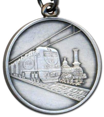 """Медаль """"За развитие железных дорог"""""""