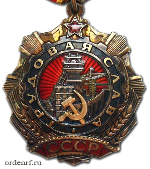 Орден Трудовой Славы первой степени