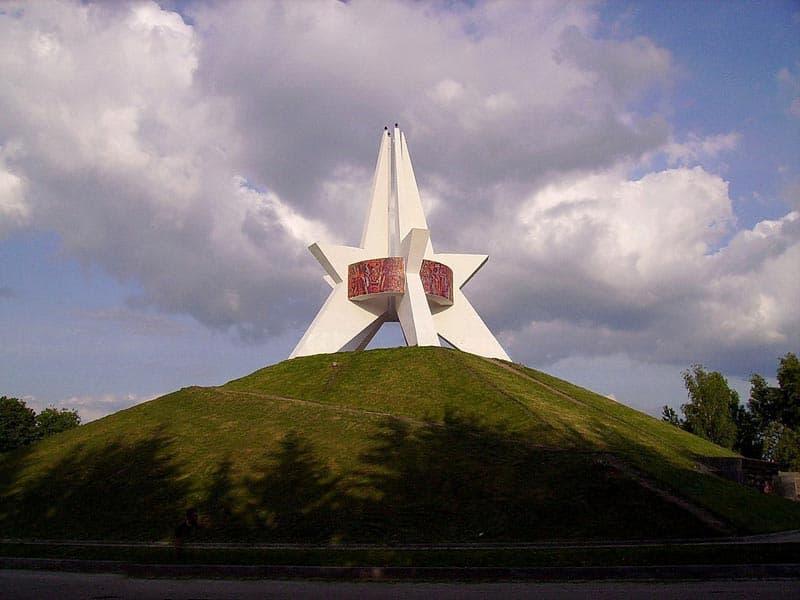Город воинской славы - Брянск. Брянск. Курган бессмертия.