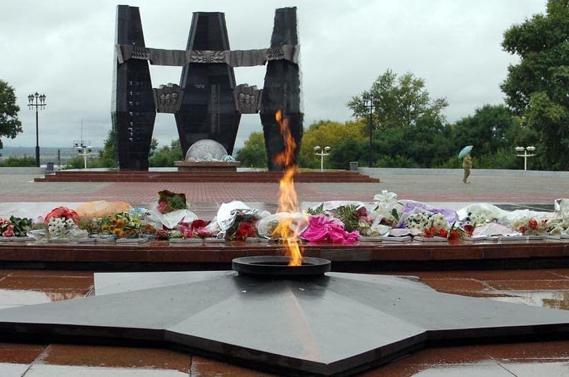 Город воинской славы Хабаровск мемориал