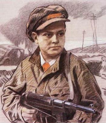 Леня Голиков пионер герой