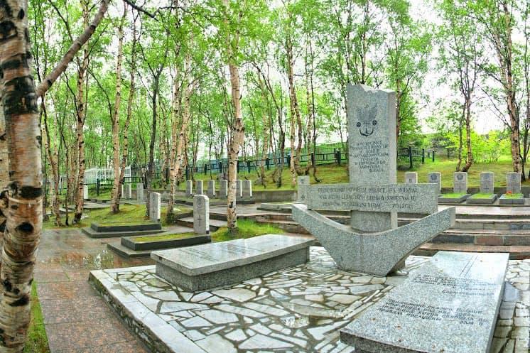 Памятный знак павшим польским матросам Северных конвоев