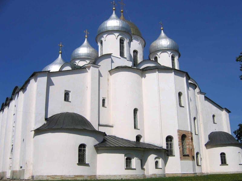 Город воинской славы - Великий Новгород. Софийский собор 1052 г.