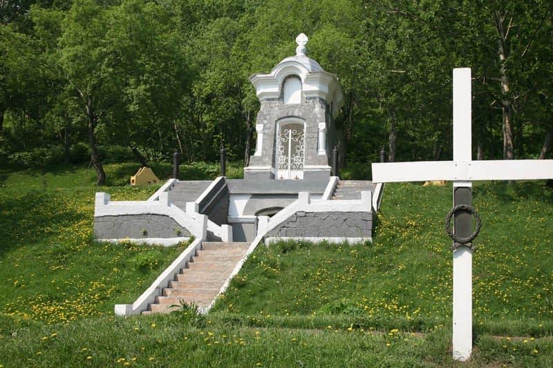 Город воинской славы Петропавловск Камчатский Памятник - часовня, сооружена в честь успешной  обороны города в 1854 года.