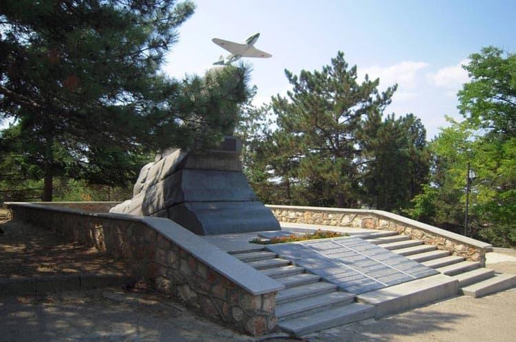 Города-героя Севастополь Памятник мужеству авиаторов-черноморцев