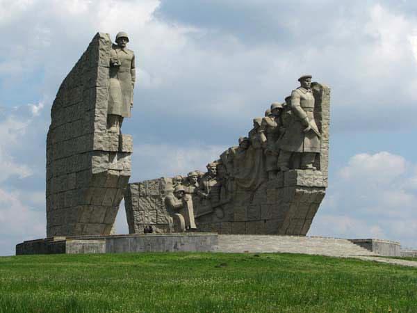 Город воинской славы Таганрог Мемориал освободителям Таганрога. Самбекские высоты.