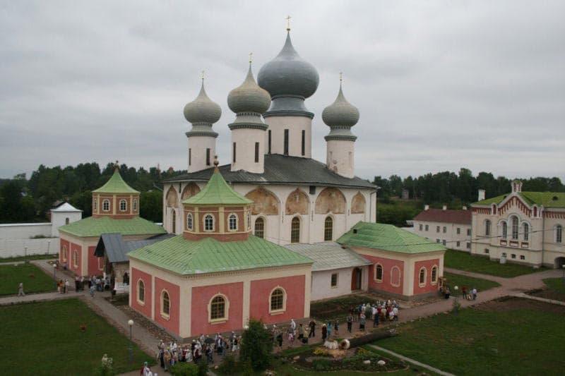 Город воинской славы Тихвин Тихвинский Успенский собор