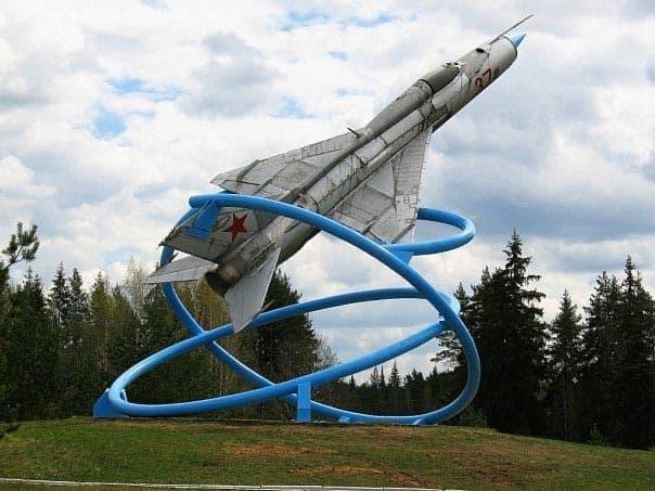 Город воинской славы Тихвин МИГ-21