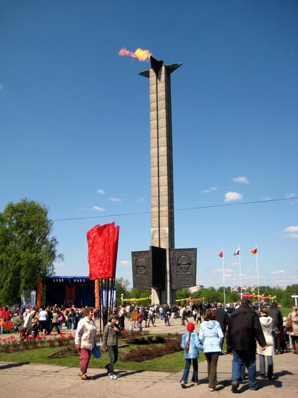 Город воинской славы Тверь обелиск